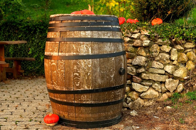 decorative barrel
